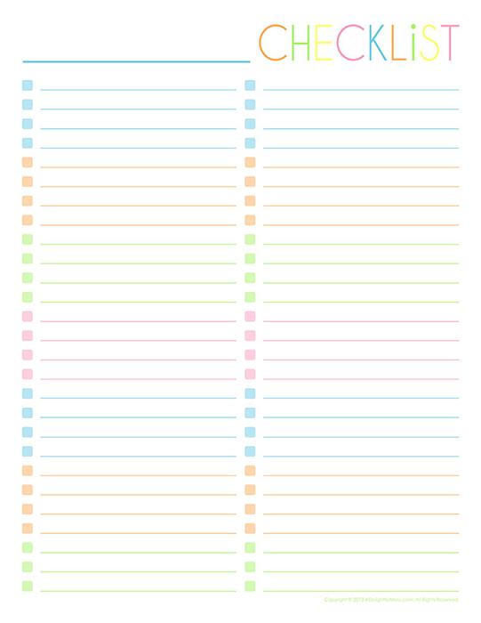 Empty-Checklist-Two-Column